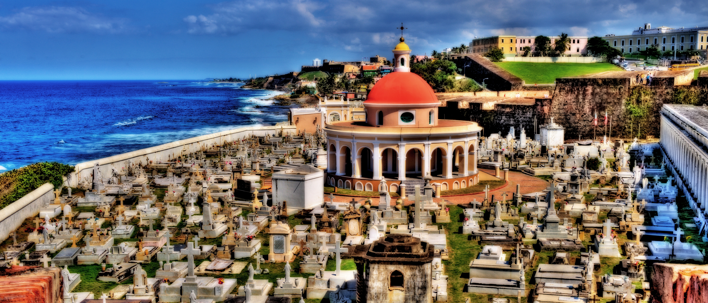 Cemetery in Puerto Rico .. San Juan 75